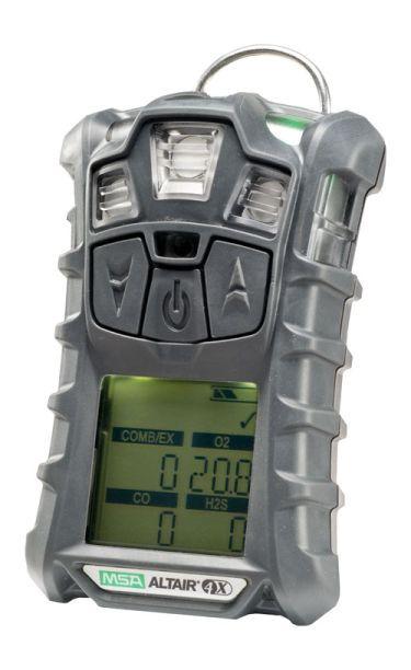 ALTAIR 4X Multiplynový přenosný detektor se senzorovou technologií MSA XCell