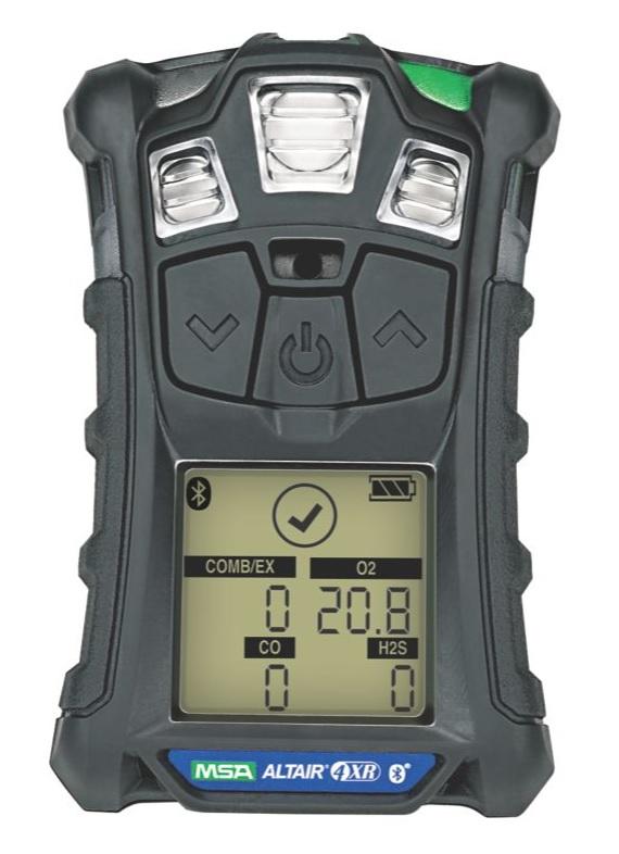 ALTAIR 4XR Multiplynový přenosný detektor se senzorovou technologií MSA XCell