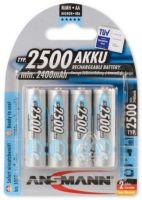ANSMANN MAX-E 2500 R06 AA baterie nabíjecí