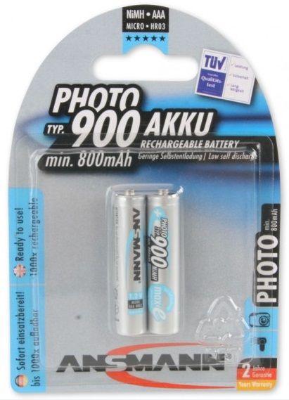 ANSMANN MAX-E photo R03 AAA baterie nabíjecí