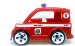 auto s igráčkem