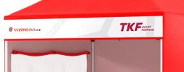 Banner na límec stanu Rapid Premium 38 cm