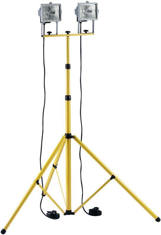 BAU-Teleskop - osvětlovací stativ + 2x světlo 500V