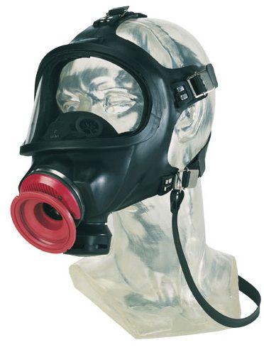 Celoobličejová maska MSA AUER 3S-PS-MaXX s náhlavním křížem