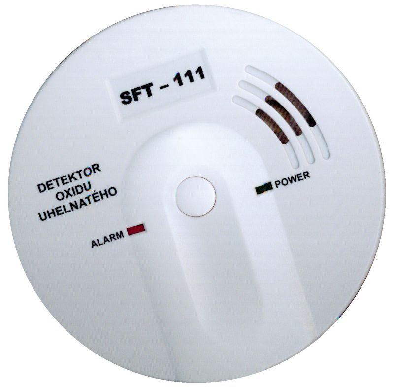 Detektor CO (hlásič oxidu uhelnatého) SFT – 111