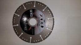 Diamantový kotouč Virmond - ocel - 125/22,23