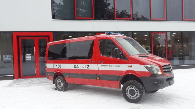 Dopravní automobil Mercedes-Benz Sprinter - 316 CDI KB/S 4x4