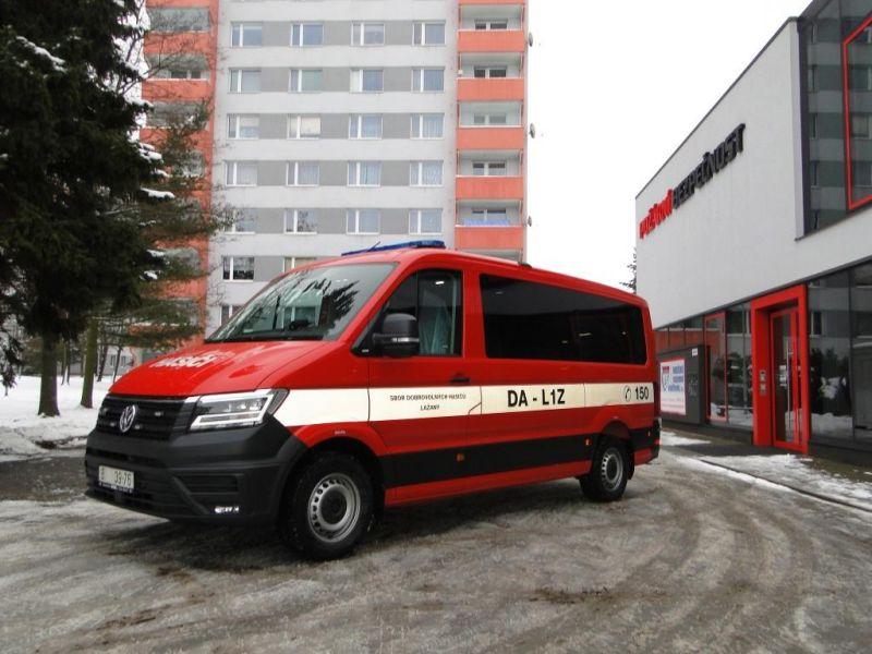 Dopravní automobil VW Crafter 4x4, 130kW