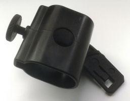 Držák na přilbu PAB FIRE 04, plast  - svítilna UK4AA