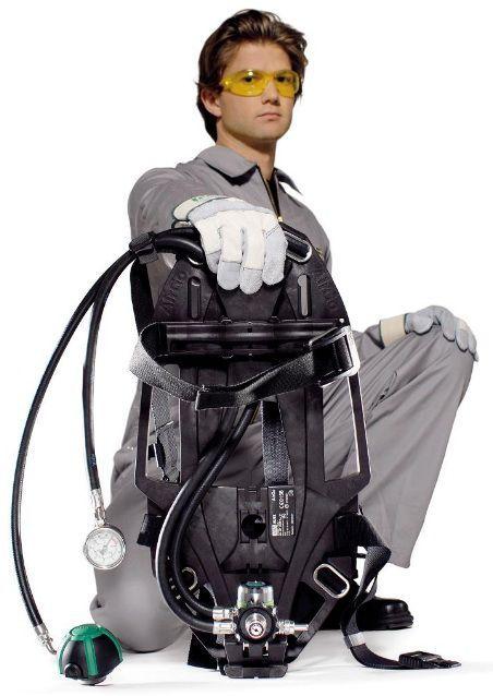 Dýchací přístroj - základní sestava BASIC MSA AirGo-COM-SH-CL