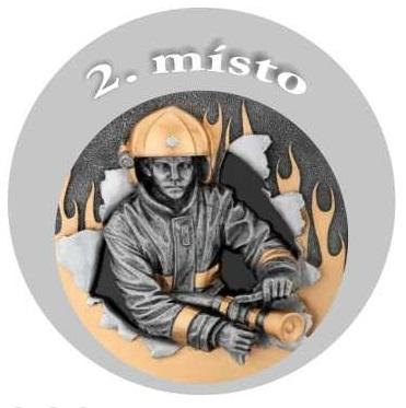 Emblém - hasič 2 - stříbro