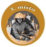 Emblém - hasic 3 - bronz
