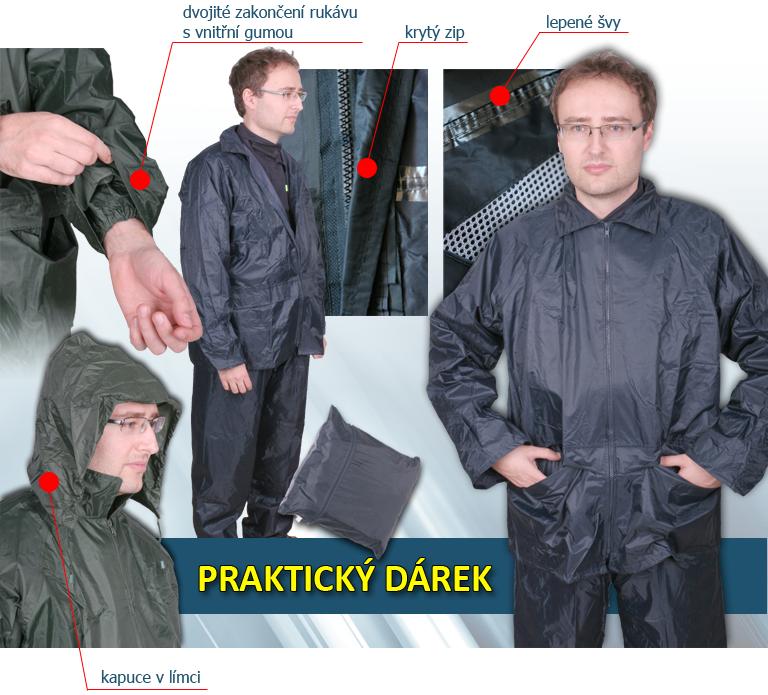 nepromokavý oblek