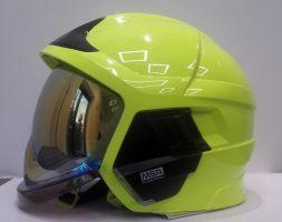 Přilba Gallet FI XF fluorescenční žlutá