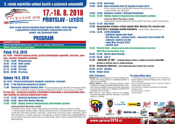 Pyrocar 2018 program