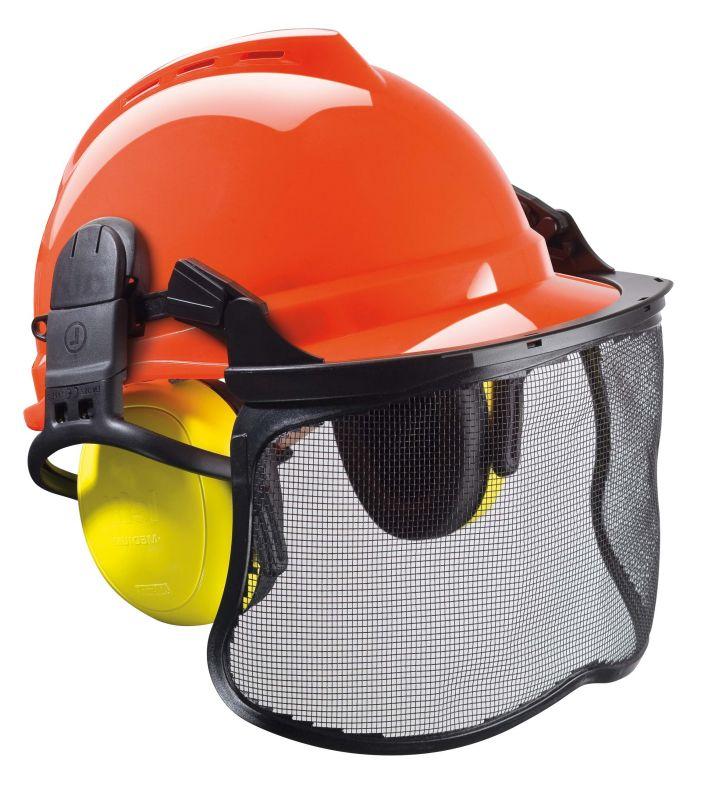 Ochranná přilba MSA V-Gard 500 pro práci v lese  d5b850be847