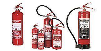 hasicí přístroje