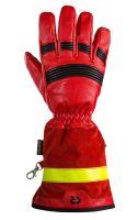 Fire Pro Red Rosenbauer - zásahové rukavice s manžetou