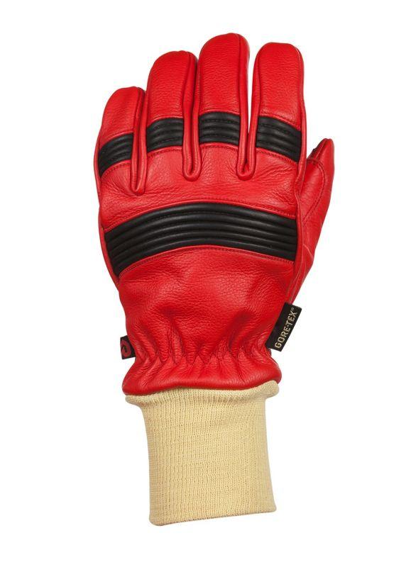 Fire Pro red Rosenbauer - zásahové rukavice s nápletem