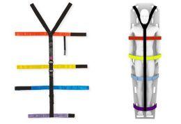 Fixační systém pro páteřní desku T-straps