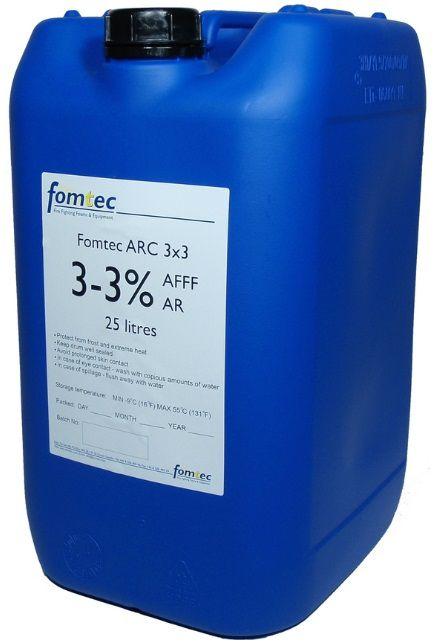 FOMTEC AFFF - ARC 3x3 -17 / 1litr