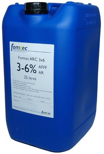 FOMTEC AFFF - ARC 3x6 -10 -17 / 1litr