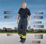 funkce oděvu Rosenbauer Fire Max 3