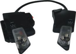 Integrovaná LED svítilna pro prilbu F1 XF