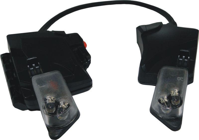 Integrovaná LED svítilna pro přilbu F1 XF
