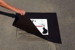 Kanalizacní ucpávka magnetická 600x600x0,9