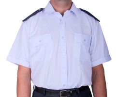 Košile modrá KR