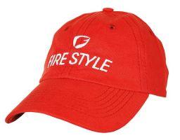 Kšiltovka FIRE STYLE no.112 červená
