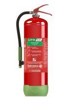 LithEx - hasicí prístroj na lithiové baterie 9 l