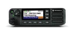 Motorola DM 4600E VHF - vozidlová radiostanice