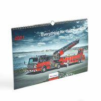 Nástenný kalendár ROSENBAUER na rok 2021 velký
