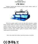 návod - výstražné světlo LTE565-2