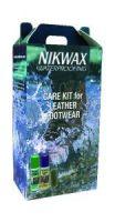 NIKWAX CARE KIT - čistící sada pro koženou obuv