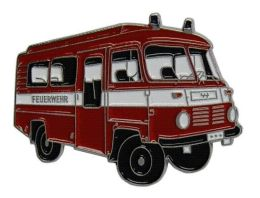 Odznak auto hasicské - Robur 2 Feuewehr