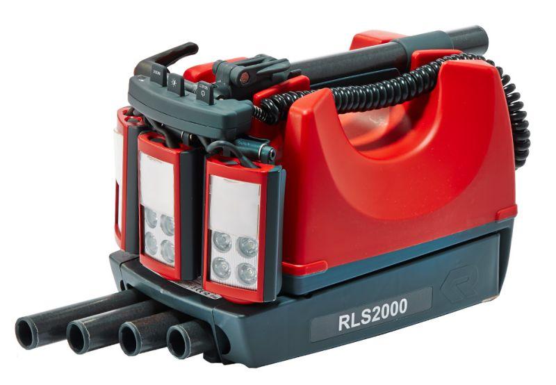 Osvětlovací přenosný systém RLS 2000 Rosenbauer -