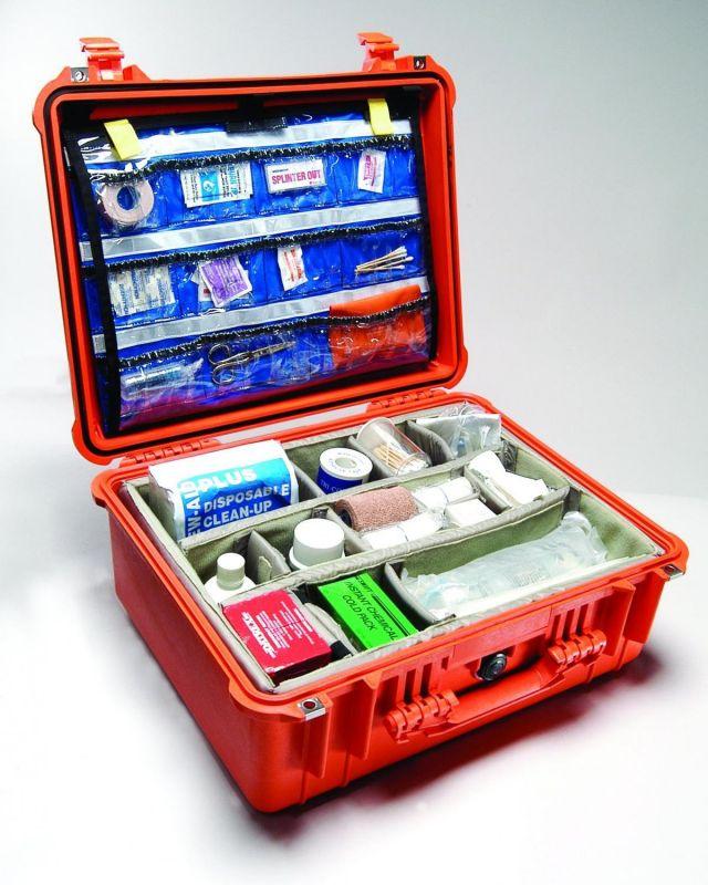 PELI CASE 1550 lékařský odolný kufr