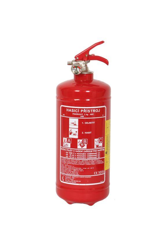 PG 1 LE - práškový hasicí přístroj