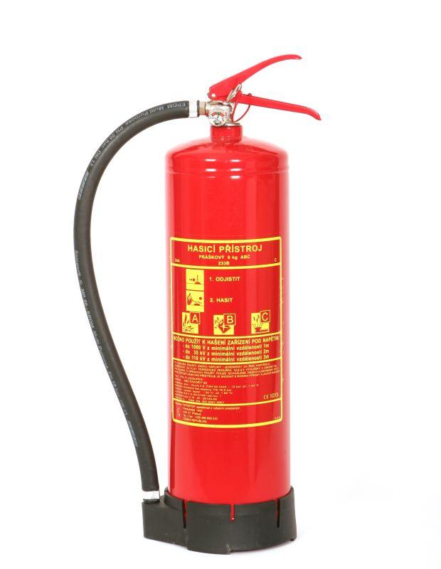 PG 6LE Super - práškový  hasicí prístroj