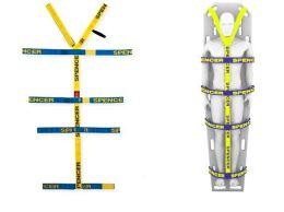 Pin-Straps - fixacní systém pro páterní desku