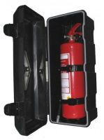 Plastový kryt na hasicí prístroj