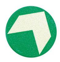 Podlahová orientacní šipka prumer 9,5cm