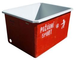 Požární nádrž laminátová 1000l s vnejší povrchovou úpravou