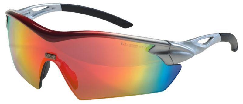Pracovní brýle MSA Racers red rainbow skla