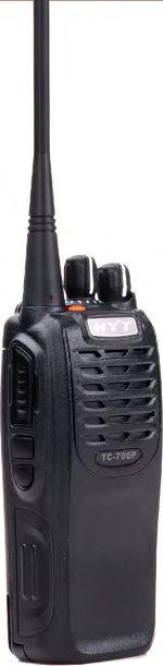 Přenosná ruční radiostanice HYT TC700P MD