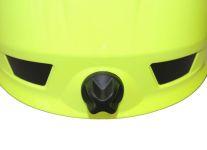 Přilba HEROS-smart Rosenbauer signální žlutá-luminiscenční - utahování