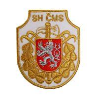 Rukávový znak SH CMS zlatý